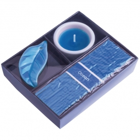 Set de Incienso y Velas Color: amarillo, azul, rojo Velas 2,30 €