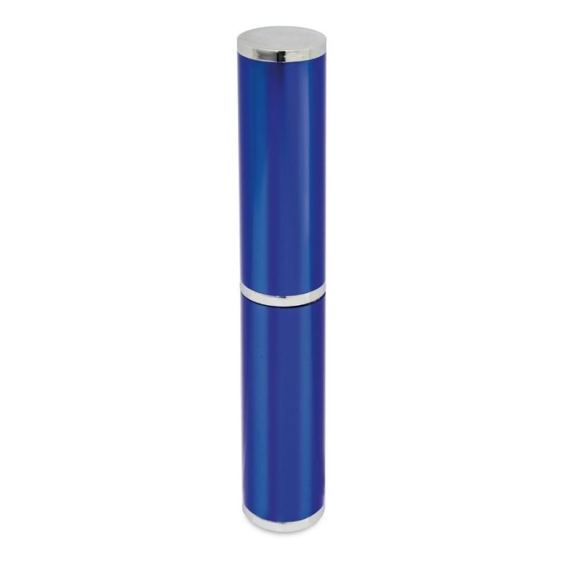 Estuche para Bolígrafo Color: azul, plata Boligrafos