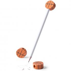 Lápiz con Gomas de Baloncesto para Empresas