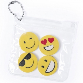 Set de Gomas de Emoticonos 0.45 €
