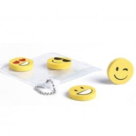 Set de Gomas de Emoticonos  Detalles Papeleria Detalles de Boda