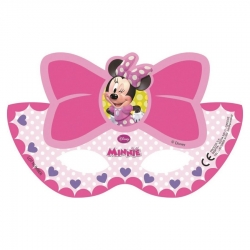Antifaces de Minnie Mouse para Fiesta