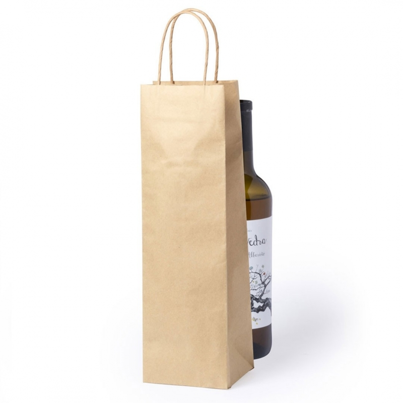 Bolsa de Kraft para Botella de Vino  Bolsas Papel