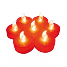 Velas de LED Rojas  Velas Regalitos 0,98 €