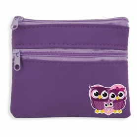 Monedero Morado con Búhos  Monederos Regalitos 0,80 €