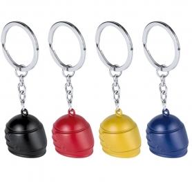 Helmet keychain