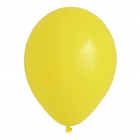 Globos Lisos Amarillos