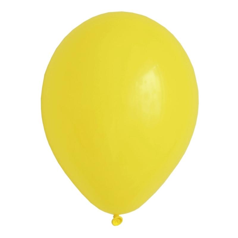 Globos Lisos Amarillos  Globos
