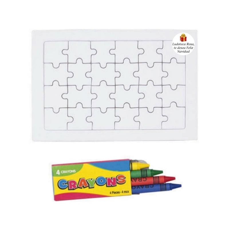 Puzzle para detalle de navidad for Detalles para navidad