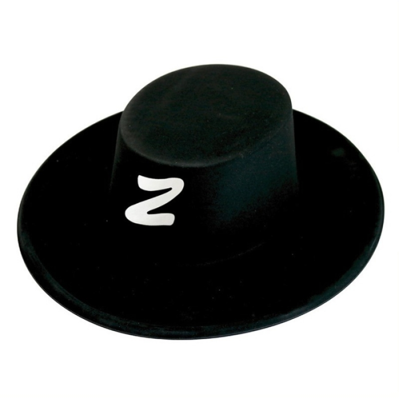Sombrero El Zorro  Pelucas y Sombreros