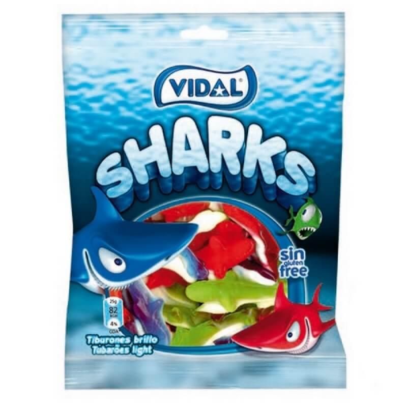 Chuches con Formas de Tiburones  Detalles Dulces