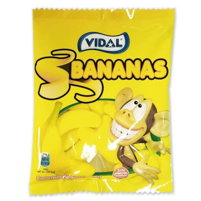Plátanos de Gominola