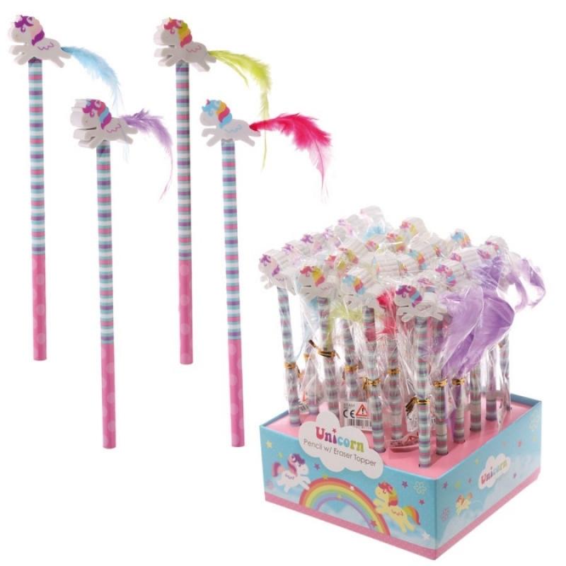 Lápices de Unicornios Detalles Papelería Detalles Niños