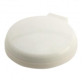 Espejo con Cepillo Blanco  Espejos Regalitos 0,87€
