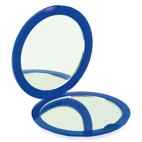 Blue Double Folding Mirror