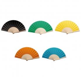 Abanicos de Colores de Madera