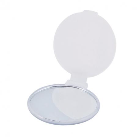 White Folding Mirror