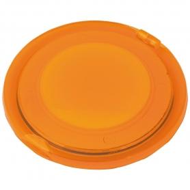 Espejo Doble Plegable Naranja  Espejos