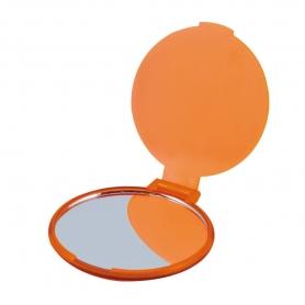 Espejito Plegable Naranja  Espejos Regalitos 0,37€