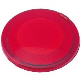 Espejo Doble Plegable Rojo  Espejos