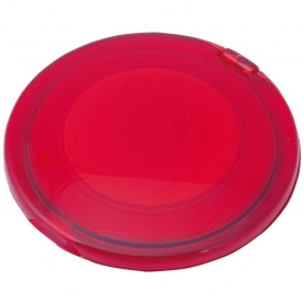 Red Double Folding Mirror