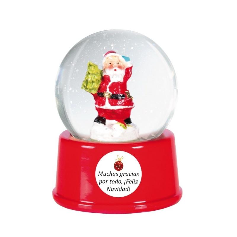 Bola de Cristal Personalizada para Navidad  Navidad