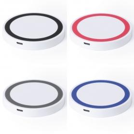 Cargador Inalámbrico Color: negro, rojo, gris, azul Cargador