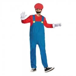 Disfraz de Mario Bros para Hombre