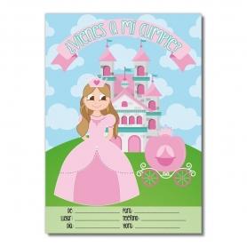 Invitación para Cumpleaños de Princesa