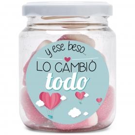 Tarro de Chuches Amor  Detalles para San Valentin Regalos por