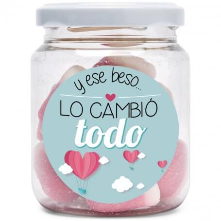 Tarro de Chuches Amor  Regalos San Valentin