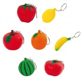 Llaveros en Formas de Frutas