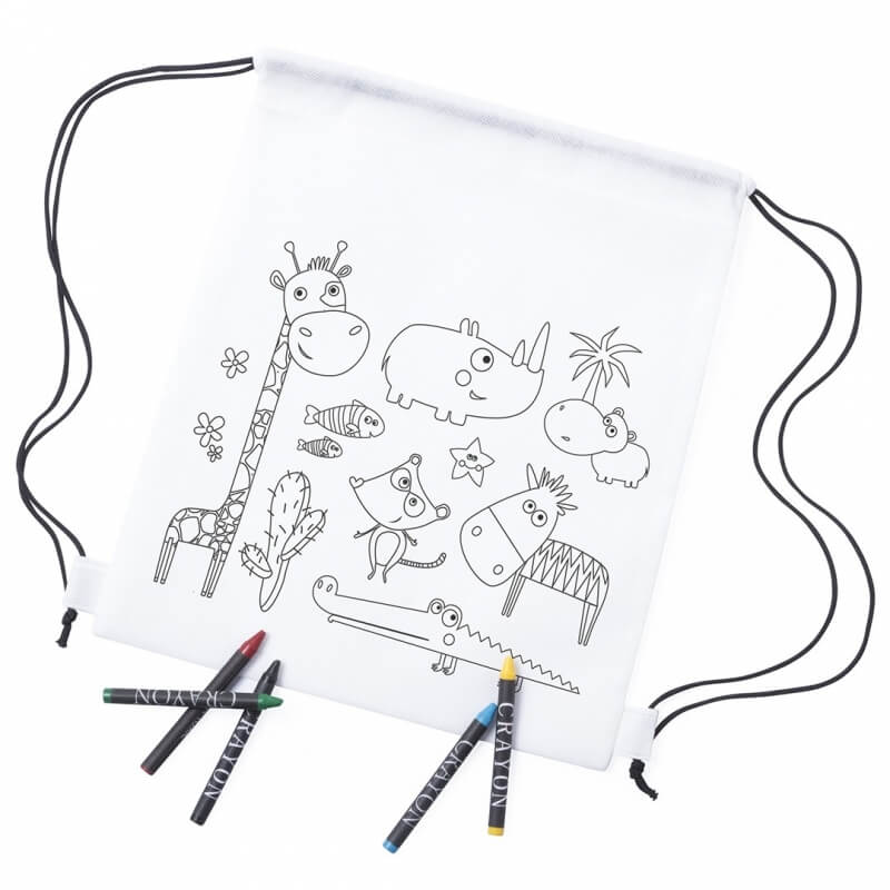 Children's Coloring Backpack