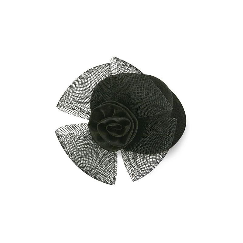 Tocado Mini Victoria Negro