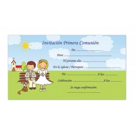 Invitación para Comunión Original  Invitaciones y Recordatorios