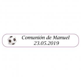 Bolígrafo de futbol Comunión