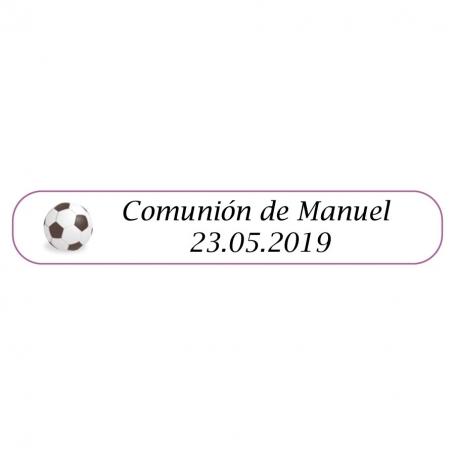 Bolígrafo de futbol para Comunión Detalles Personalizados