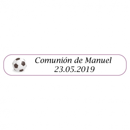 Bolígrafo de futbol para Comunión  Boligrafos