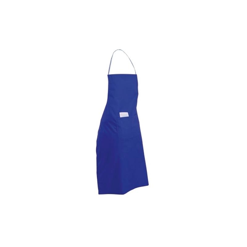 Delantal Bacatus Color: azul, neg, roj Delantal