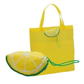 Bolsa Plegable Velia Color: limon, sand Originales y Utiles
