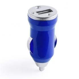 Cargador Coche Usb Hikal Color: azul, bla, fucsi, nara, neg