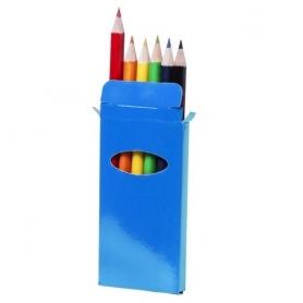 Caja Lápices Garten Color: ama, azul, bla, nara, roj, ver Lápiz