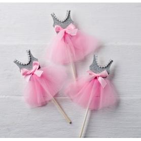 Pic Bailarina Gris-rosa,  Regalos por menos de 1 euro Regalos