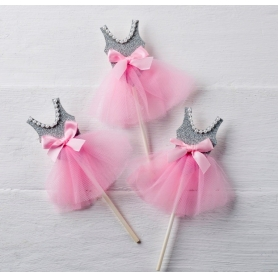 Pic Bailarina Gris-rosa,  Regalos por menos de 1 euro