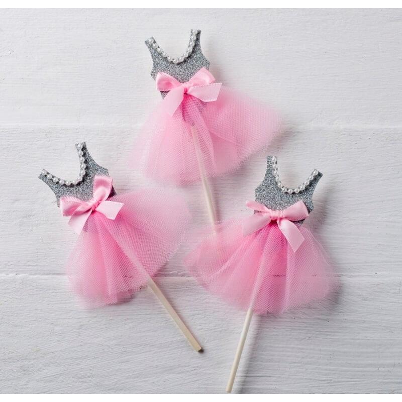 Pic Bailarina Gris-rosa, Detalles de Comunión Regalos y