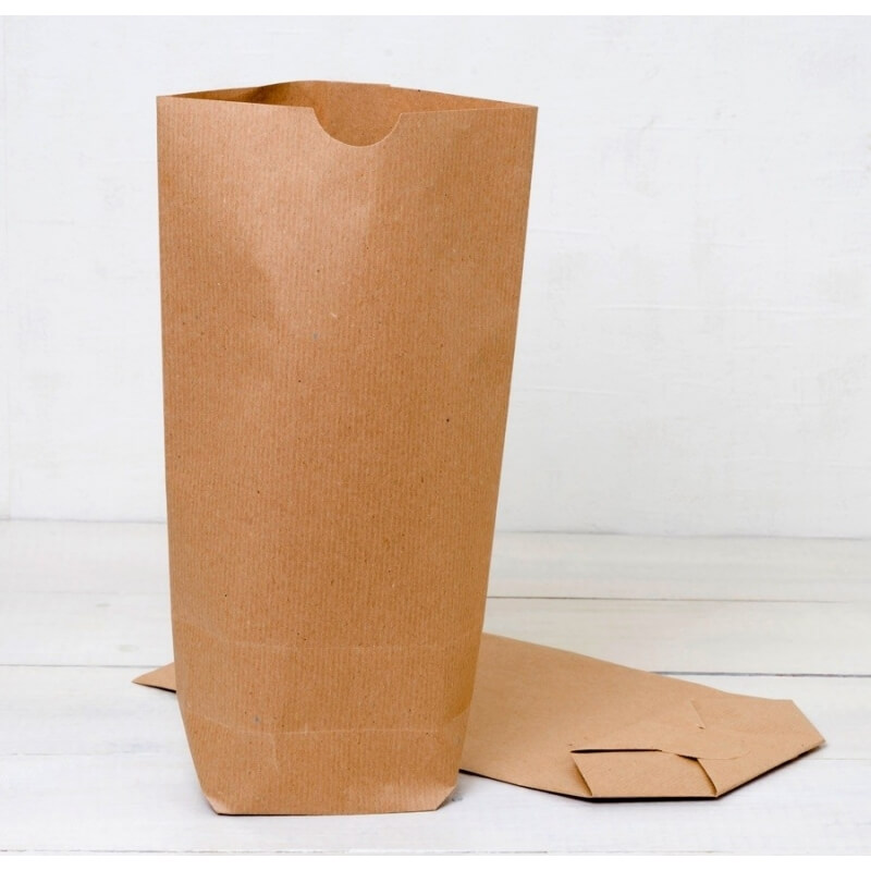 Pack 50 Kraft Paper Bag With Base