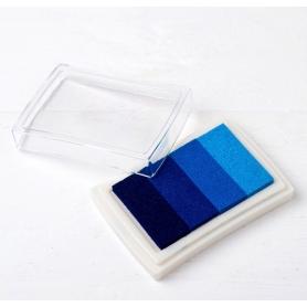 Tinta de Huellas de Color Azul