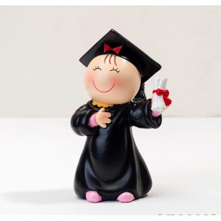Figura Pastel Pita Graduada Detalles para Graduación Regalos
