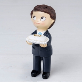 Figura Pastel Pop & Fun Niño Corbata Y Cojín Anillos 5.41 €