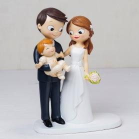 Figura boda con niño